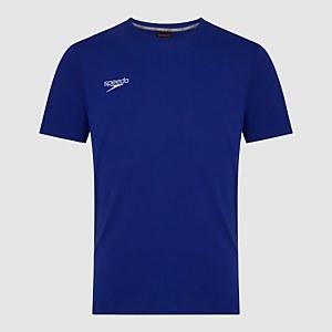 Unisex Team Crew Neck T-Shirt Blue