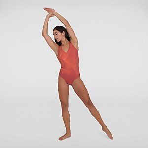 Women's LuxePool Swimsuit Orange