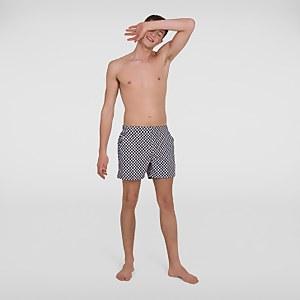 "Men's Vintage Leisure 14"" Swim Shorts Black"