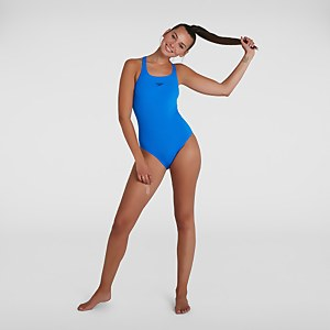 Damen Essential Endurance+ Medalist Badeanzug Blau