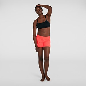 Short de bain Femme Orange