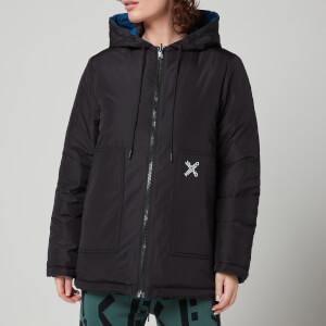 KENZO Women's Sport Reversible Waterproof Jacket - Black