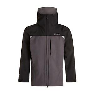 Men's Chombu Waterproof Jacket - Black / Grey