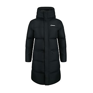 Women's Combust Reflect Long Down Insulated Jacket - Black