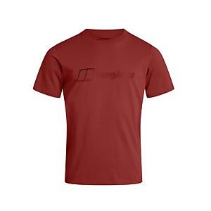 Men's Berghaus Modern Logo T-shirt - Red