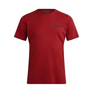 Men's Colour Logo Short Sleeve T-Shirt - Red