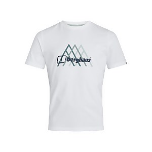 Men's Peak Fusion Grid T-Shirt - White