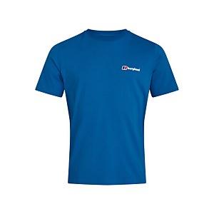 Men's Organic Classic Logo T-Shirt - Blue