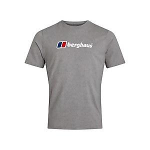 Men's Organic Big Classic Logo T-Shirt - Dark Grey