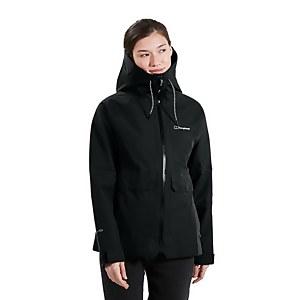 Women's Highraise Waterproof Jacket - Black