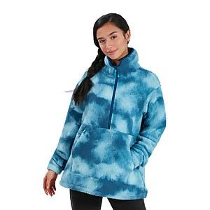 Women's Hawkser Half Zip Fleece - Blue