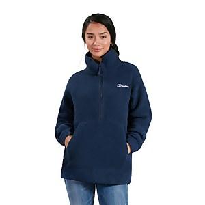 Women's Hawkser Half Zip Fleece - Dark Blue