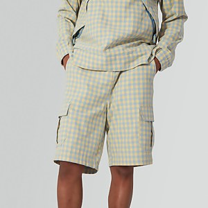 Gingham Combat Shorts