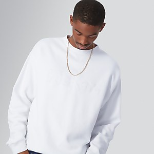 Brushed Back Crew Sweatshirt