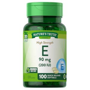 Vitamin E 90mg (200 IU)