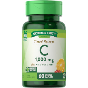 Timed Release Vitamin C 1000mg with Rosehips