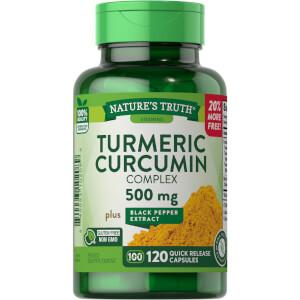 Turmeric Curcumin Complex + Black Pepper