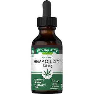 Hemp Seed Oil 925mg - 60ml Liquid