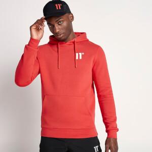 Men's Core Pullover Hoodie - Goji Berry Red