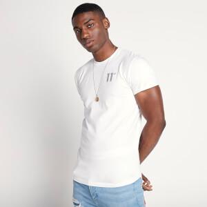 Men's Core Muscle Fit T-Shirt - White/Light Grey