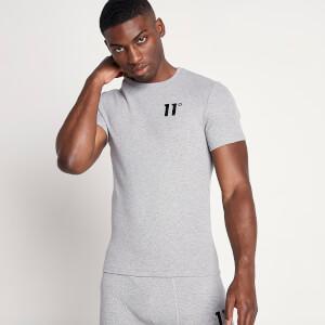 Men's Sustainable Loungewear Rib T-Shirt - Grey Marl