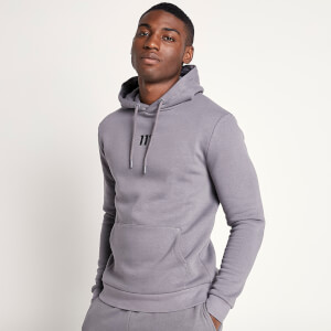 Men's Small Logo Pullover Hoodie - Charcoal