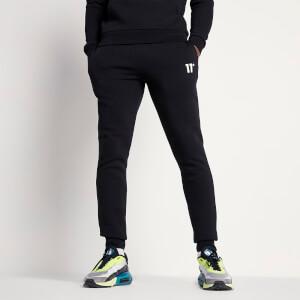 Men's Small Logo Joggers - Black