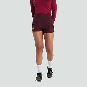 WOMENS WOVEN GYM SHORTS