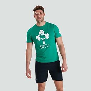 MENS IRELAND CREST LOGO TEE