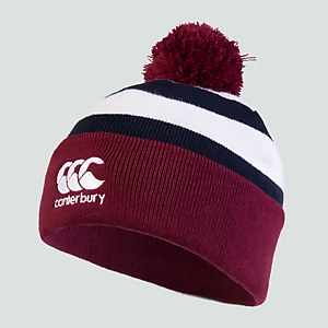 ADULT HOOPED BOBBLE HAT