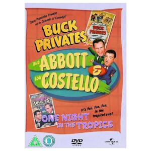 Abbott and Costello: Buck Privates / One Night in the Tropics