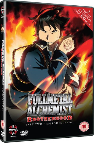 Fullmetal Alchemist Brotherhood Two (Episodes 14-26)