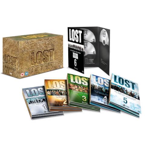 Lost Complete Seasons 1-6 Box Set
