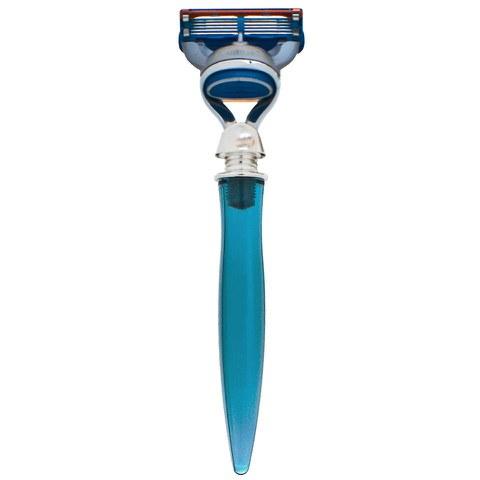 eShave 5 Blade Razor - Blue