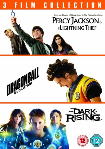 Percy Jackson and the Lightning Thief / Dragonball: Evolution / The Dark is Rising