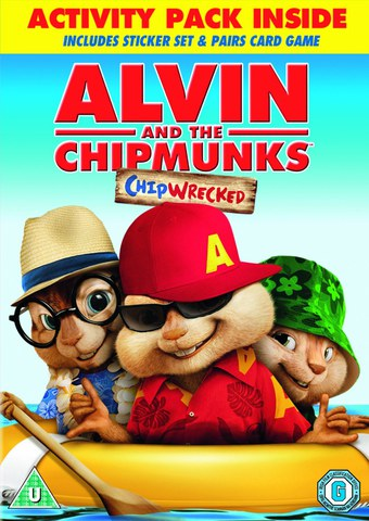 Alvin and the Chipmunks: Chipwrecked (Bevat Pairs Game, Stickers and Digital Copy)