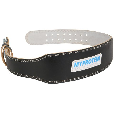 My Protein Leather Lifting Belt, Large