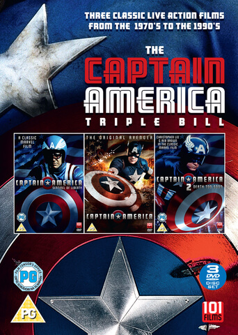 Captain America Triple Box Set