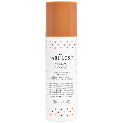 Evo Fabuloso Colour Intensifying Conditioner Caramel (250ml)