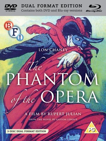 The Phantom Of The Opera (Dual Format Editie)