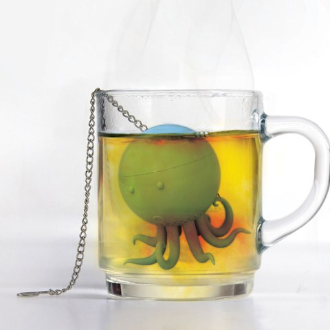 Mustard Octopus Theefilter