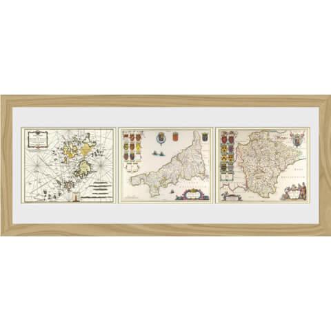Maps Triptych - 30