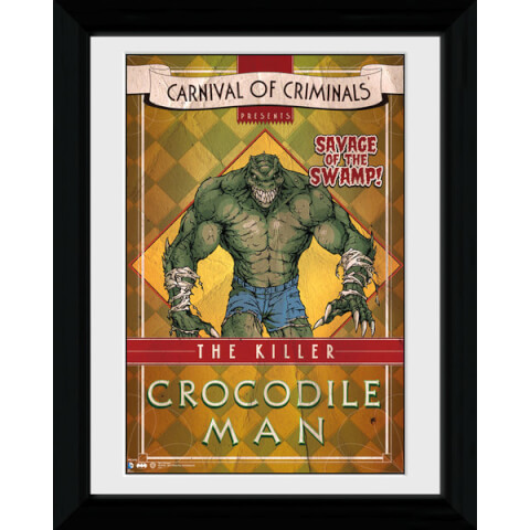 Batman Circus Crocodile Man - 30 x 40cm Collector Prints