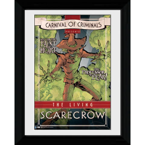 Batman Circus Scarecrow - 30 x 40cm Collector Prints