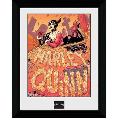 Batman Harley Quinn Graveyard - 30 x 40cm Collector Prints