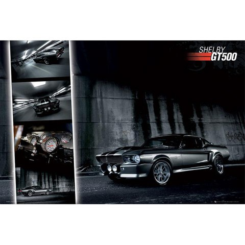 Ford Shelby Mustang GT500 - Maxi Poster - 61 x 91.5cm