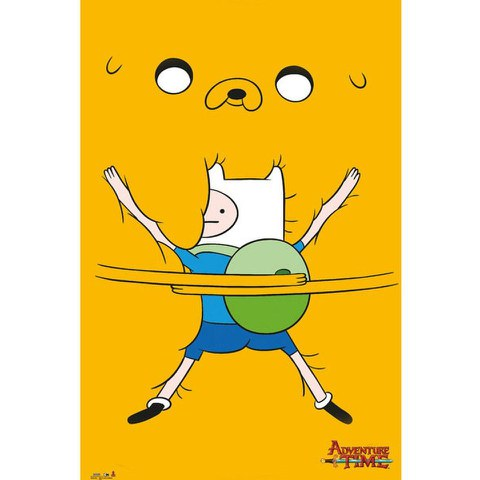 Adventure Time Bro Hug - Maxi Poster - 61 x 91.5cm