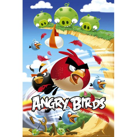 Angry Birds Attack - Maxi Poster - 61 x 91.5cm