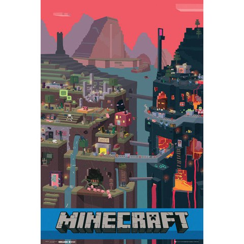 Minecraft World - Maxi Poster - 61 x 91.5cm