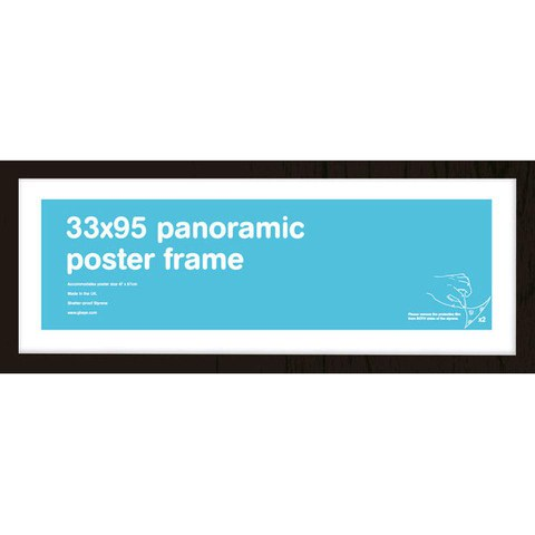 Black Frame Panoramic - 33 x 95cm